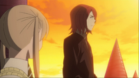 Episode 9 - Spirit explains to Maka the origins of a Kishin