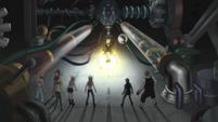 Soul Eater Episode 47 HD - Lord Death creates Death City Robot (54)
