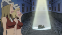 Soul Eater Episode 3 HD - Thompsons surprised at Kid's depression