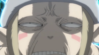 Soul Eater Episode 51 HD - Credits Fairy Excalibur face 1