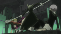 Soul Eater Episode 45 HD - Maka and Crona vs Medusa (1)