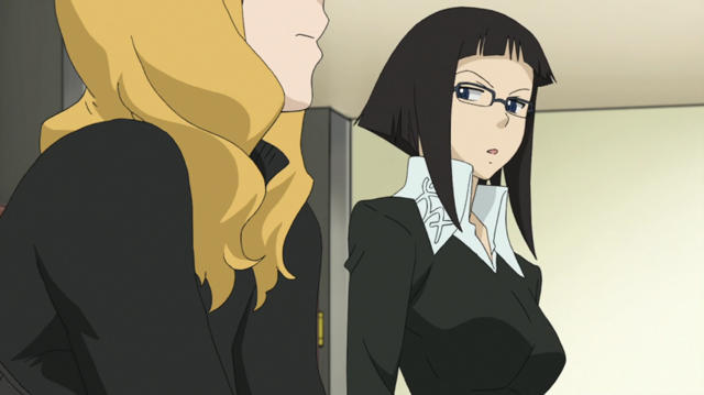 File:Soul Eater Episode 25 HD - Marie and Azusa 1.png