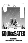 Soul Eater Chapter 15 - Cover