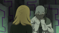Soul Eater Episode 44 HD - Medusa and Stein face Marie and Crona (115)