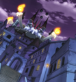 Soul Eater Episode 18 HD - Death City at night (stitched)