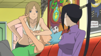 Soul Eater Episode 17 - Liz suffocates Black Star