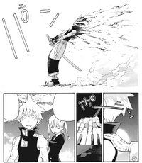 Soul Eater Chapter 107 - Maka awakens Black Star from hallucination