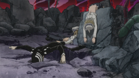 Soul Eater Episode 50 HD - Kid, Liz, Patty defeated