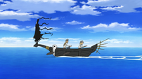 Soul Eater Episode 15 - Kid is on a boat