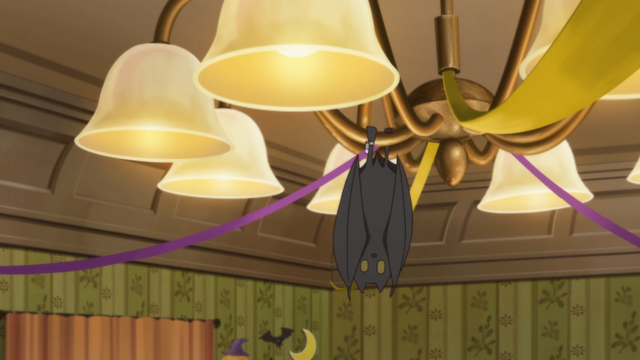 File:Soul Eater NOT Episode 10 HD - A bat arrives in the girls' dorm.png