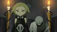 Soul Eater Episode 44 HD - Medusa and Stein face Marie and Crona (6)