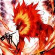 Flame Lion King