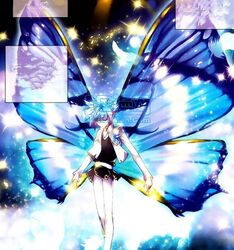 Bright Goddess Butterfly