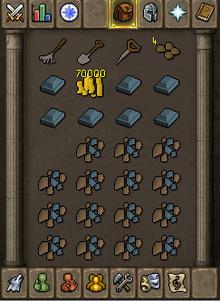 Rune bar inventory