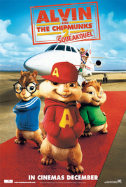 Alvin and the chipmunks the squeakquel poster