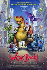 We're Back A Dinosaur's Story Poster
