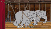 The Simpsons Hollywoodedge, Elephant Trumpeting PE024801 2