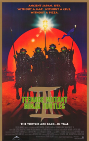 Teenage mutant ninja turtles 3 1993 poster