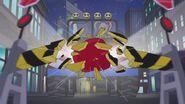DC Super Hero Girls (Shorts) Hollywoodedge, Punch Face Hit 3 Sharp PE100301