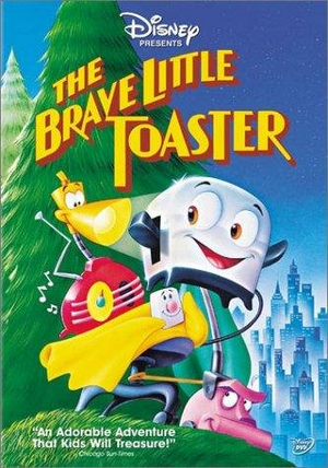 The brave little toaster vhs cover