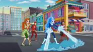 DC Super Hero Girls (Shorts) Hollywoodedge, Synth Gun Shot Ricoch PE206601 (3)