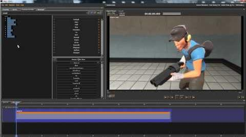 Custom animation into source film maker using Maya
