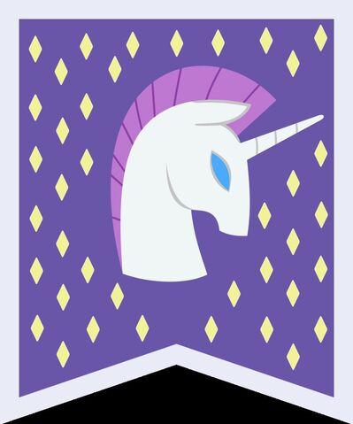 File:Unicorn banner vector.jpg