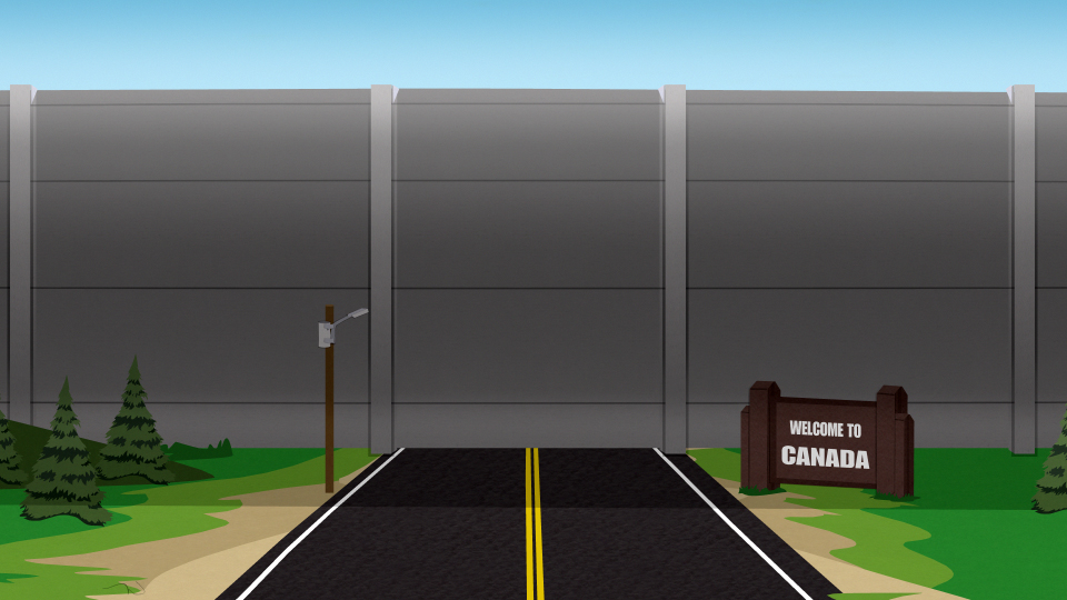 canadian wall south park archives fandom powered by wikia