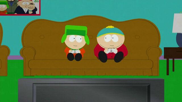 File:CartmanKyle smile.jpg