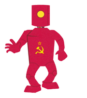 411px-Red Russian Robot