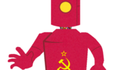 Red Russian Robot
