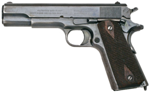 File:Colt Model of 1911 U.S. Army b.png