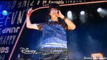 Soy Luna 1x05 Ramiro canta en el Open-Music del Jam & Roller - HD