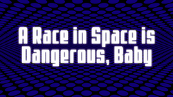 Space Dandy Episode 7 Title Card