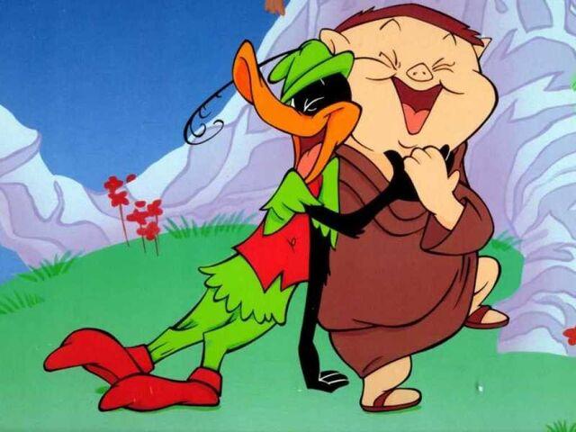 File:Daffy Duck - Porky Pig -.jpg