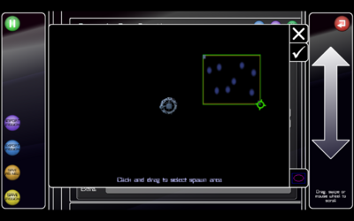 SR level editor select spawn area