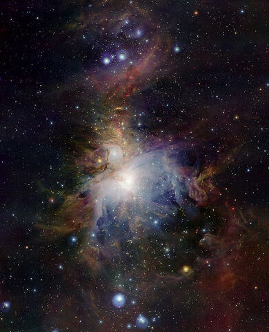 File:VISTA's infrared view of the Orion Nebula.jpg