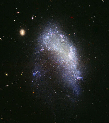 File:Irregular galaxy NGC 1427A (captured by the Hubble Space Telescope).jpg