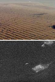 Titan dunes crop