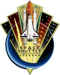 120px-Space Shuttle Program Commemorative Patch-1-