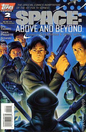 SAAB cover comic 2