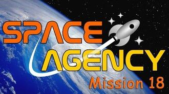 Space Agency Mission 18 Gold
