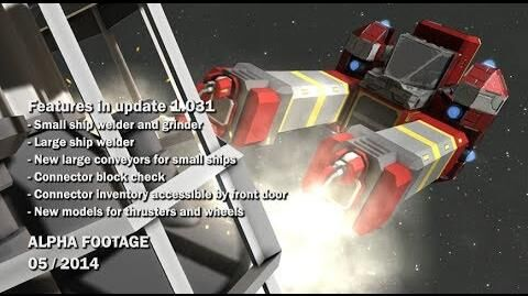 Space Engineers - Small and Large Ship Welder, Small Ship Grinder