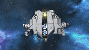 Military Minelayer bow