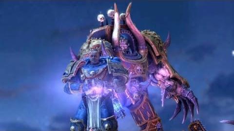 Death of Sidonus (Warhammer 40.000 Space Marine) Full HD