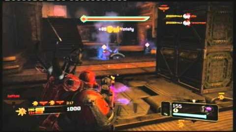 Space marine gameplay Plasma cannon