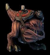 Ork bomb squig