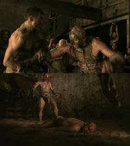 Spartacus in the pit