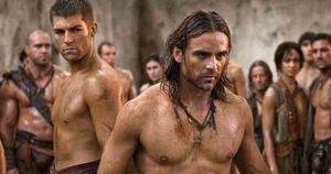 Liam-McIntyre-and-Dustin-Clare-Spartacus-Vengeance-Chosen-Path