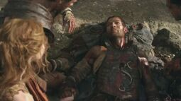 Spartacus final moments